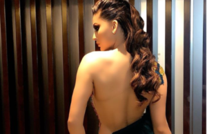 Urvashi Rautela Flaunts Her Bare Back In This Sultry Pic As She's 'Bored' At Home