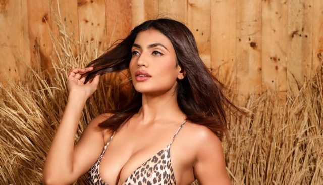 Urvi Shetty Turns Up The Heat With Her Tiger Printed Bikini - Must See