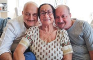 Anupam Kher's mother, brother, sister-in-law and niece test ...