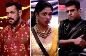 Bigg Boss 14: Kavita Kaushik Pushes Eijaz Khan During Fight