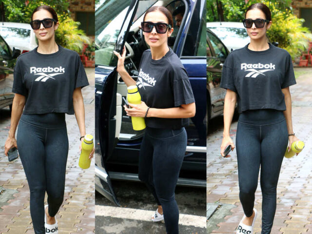 Malaika Arora Slays in an All-Black Outfits [PHOTOS]