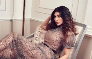 Mouni Roy Looks So Hot in Transparent Shimmery Dress - Check Out