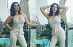Sunny Leone flaunts her figure with her latest picture