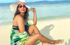 Hina Khan treats fans with stunning PHOTOS in a bikini from her vacay
