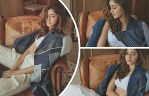 Ananya Panday takes the internet by storm with her sensuous pictures