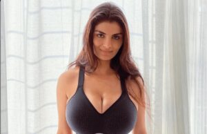 Anveshi Jain Flaunts Her Fab Figure In Tight Gym Wear