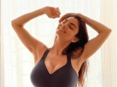 Anveshi Jain Flaunts Her Sexy Figure In Tight Gym Wear