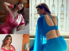 Check Out of Anveshi Jain's Stunning Sari Looks