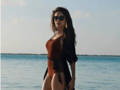 Nushrat Bharucha is raising the temperature in monokin