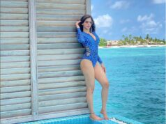Sakshi Malik's Jaw Dropping Avatar in a Blue Monokini