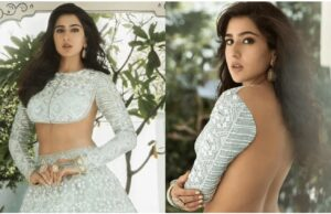 Sara Ali Khan Looks Stunning in Backless Blouse from Manish Malhotra's Nooraniyat collection