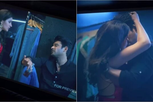 Sidharth Shukla and Sonia Rathee's kiss from Broken But Beautiful 3,