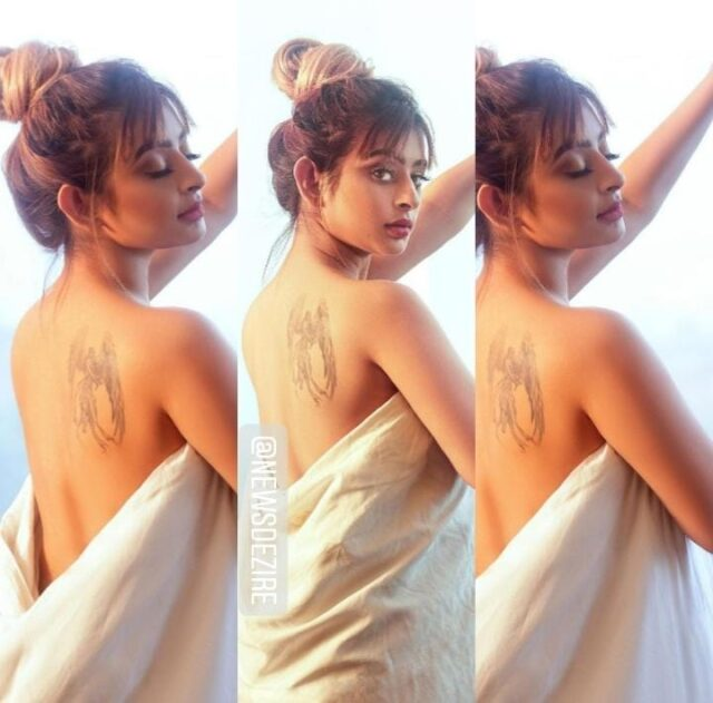 Tv Actress Ankita Dave Goes Topless in Bathtub For Photoshoot