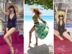 check out the boldest maldives pictures of tina datta