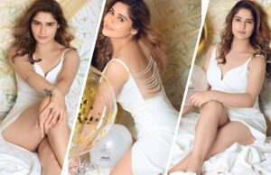 arti singh shares glamorous photoshoot in white outfit
