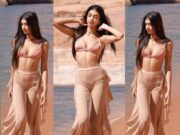 Alanna Panday Turns Up The Heat in Stunning Beachwear