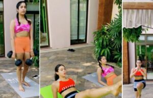Sara Ali Khan and Janhvi Kapoor's Workout Video Will Inspire You