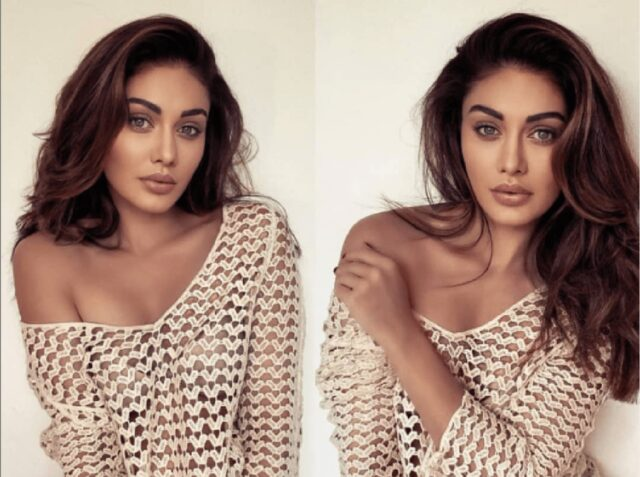 Shefali Jeriwala Looks so Hot in Transparent Netted Dress