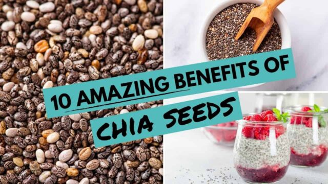 10 Crazy Awesome Health Benefits of Chia Seeds