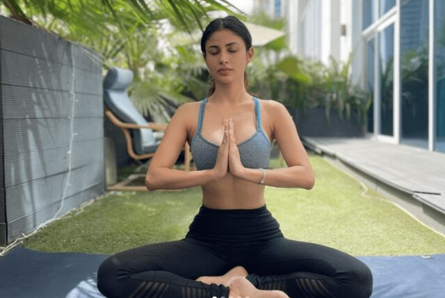 International Yoga Day 2021: Mouni Roy Found The Perfect Spot For A Fit Morning