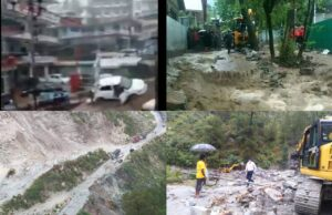 Cloudburst Over Dharamshala Triggers Flash Floods, Scary Visuals- VIDEO